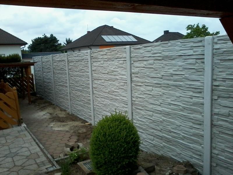 Betonové ploty Hodonín výrobce FCC BETON