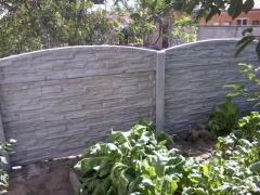 Nízká cena betonového plotu