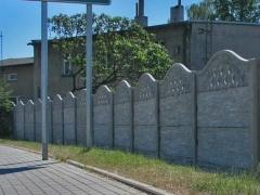 Betonový plot inspirace, fotogalerie