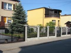 Betonové ploty realizace Pardubice