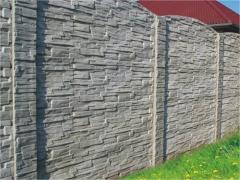 Plotové dílce na ploty z betonu