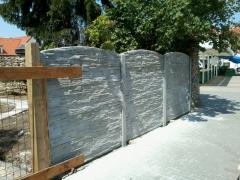 Betonové ploty s montáží a realizací Lanškroun