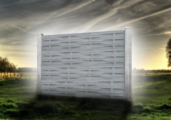 Rozšíření výroby betonových plotů o nové dekory, oboustranný betonový plot