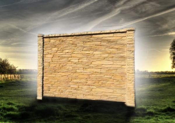 Betonové ploty za dobrou cenu přímo od vírobce FCC BETON s barvou do odstínu pískovce